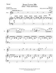 JESUS LOVES ME (Duet – Flute and Piano/Score and Parts)