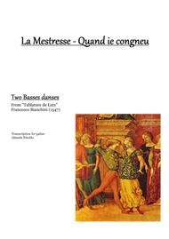 Francesco Bianchini - Two basses danses