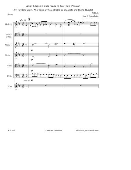 Bach: Aria -