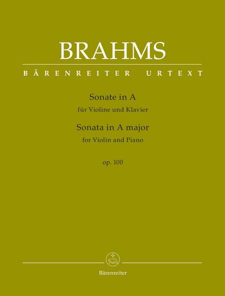 Sonata for Violin and Piano A major op. 100