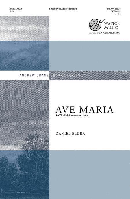 Ave Maria - SATB divisi