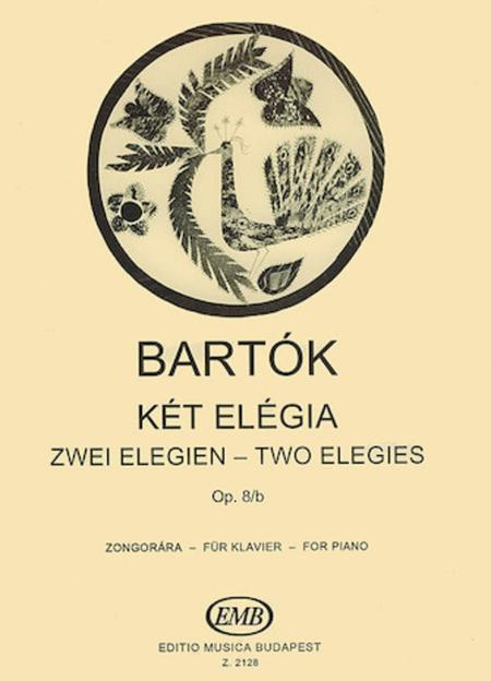 2 Elegies Op.8/b-pno