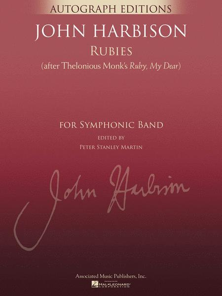 Rubies (After Thelonious Monk's Ruby, My Dear)