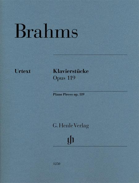 Piano Pieces Op. 119 Revised Edition
