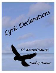 Lyric Declarations - String Quartet