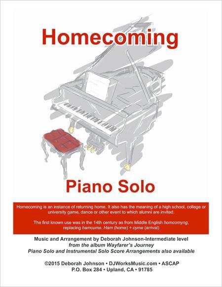 Homecoming Piano Solo