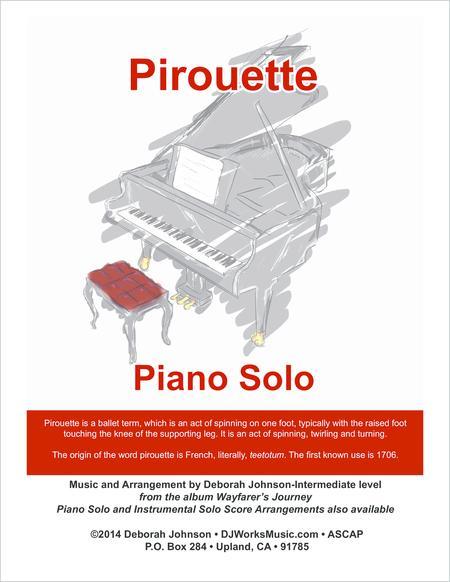 Pirouette Piano Solo