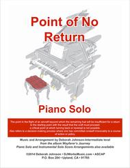 Point of No Return Piano Solo