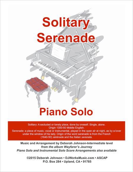 Solitary Serenade Piano Solo