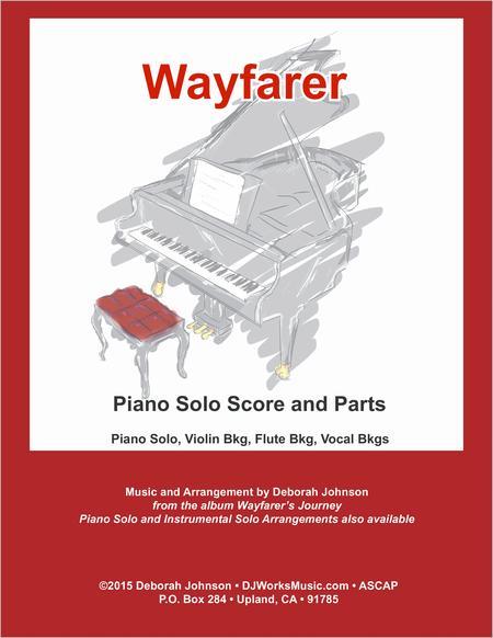 Wayfarer Piano Solo Score