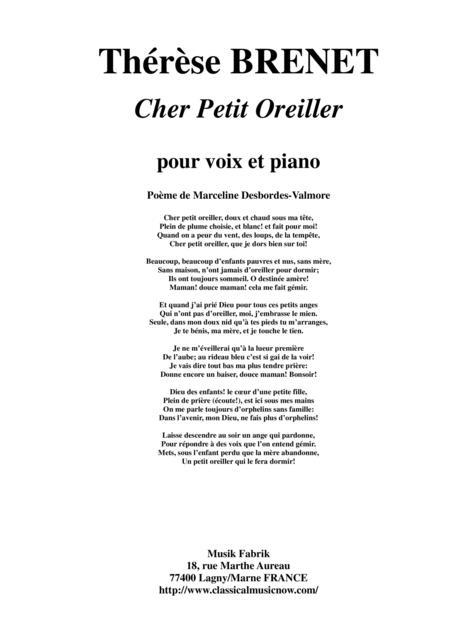 Preview Therese Brenet Cher Petit Oreiller For Medium