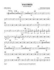 Valdres (Concert March) - Percussion 2