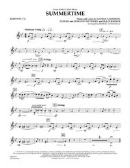 Summertime (from Porgy and Bess) - Baritone T.C.