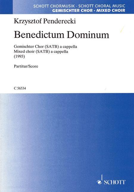 Benedictum Dominum