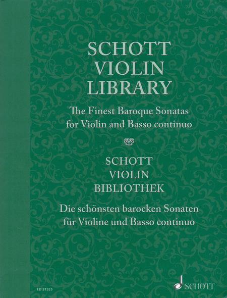 Schott Violin Library
