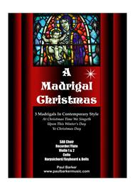 A Madrigal Christmas (Score and Parts)
