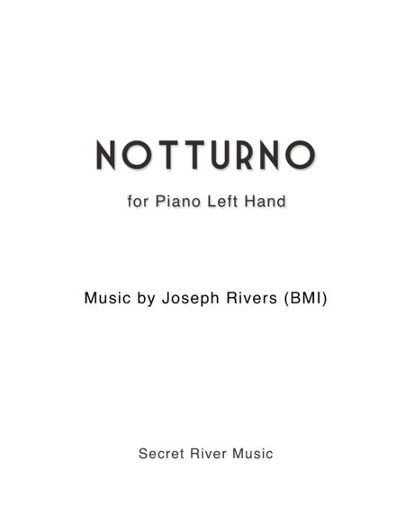 Notturno, for Piano Left Hand