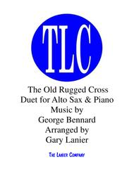 THE OLD RUGGED CROSS (Duet – Alto Sax and Piano/Score and Parts)