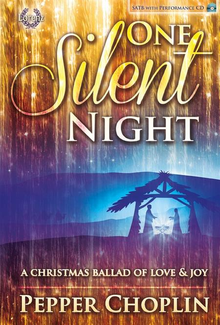 One Silent Night - SATB Score with Performance CD
