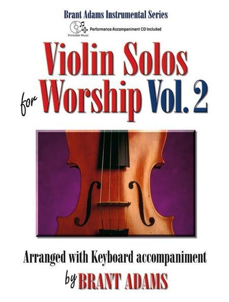 Violin Solos for Worship, Vol. 2