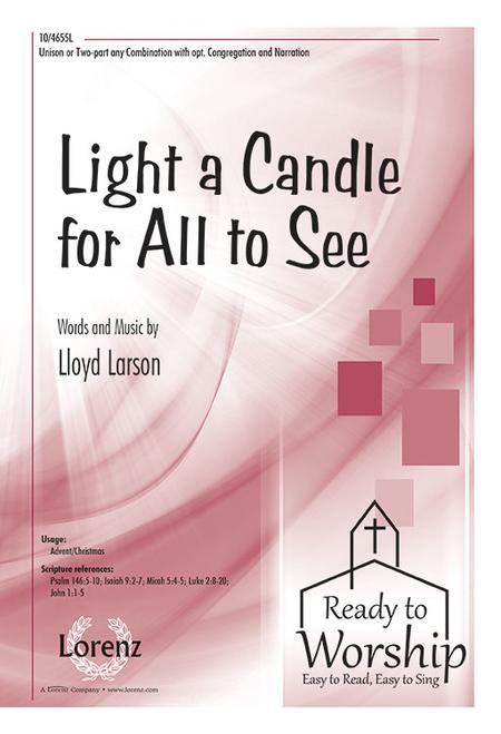 Light a Candle for All to See