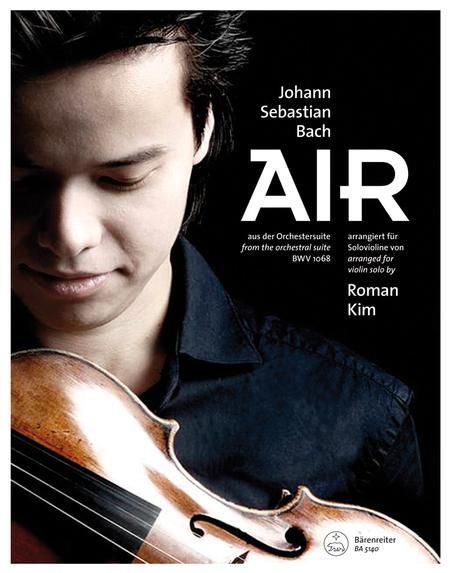 Air (Arranged for violin solo) (from the orchestral suite BWV 1068)