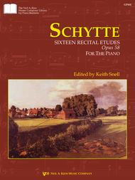 Sizteen Recital Etudes, Opus 58