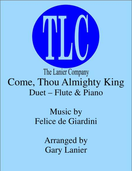 COME, THOU ALMIGHTY KING (Duet – Flute and Piano/Score and Parts)