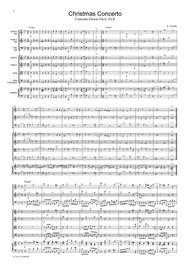 Corelli Christmas Concerto, for string orchestra, SC001