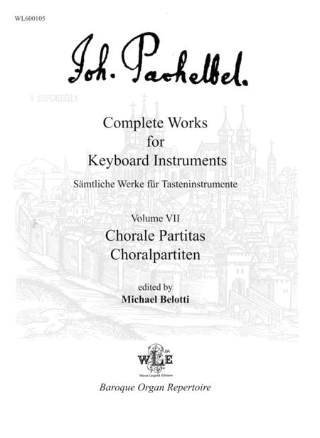 Complete Works for Keyboard Instruments, Volume VII