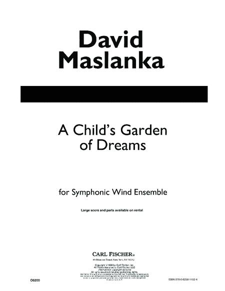 A Child's Gardern of Dreams