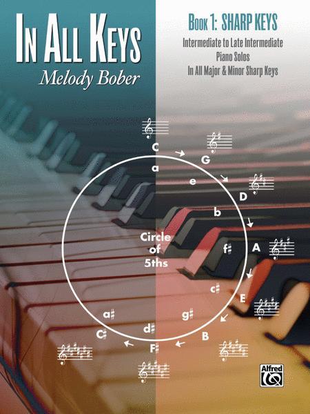 In All Keys -- Sharp Keys, Book 1