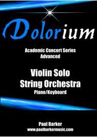 Dolorium (Score and Parts)