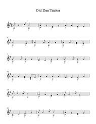 Old Dan Tucker - American Traditional Song