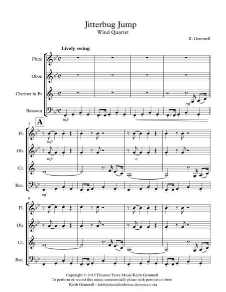 Jitterbug Jump: Wind Quartet