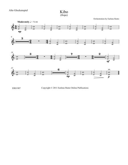 Kibo (Hope) - Alto Glockenspiel