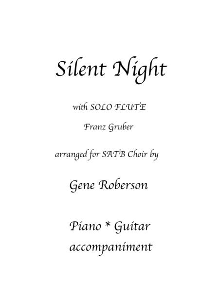 Silent Night with Flute Solo