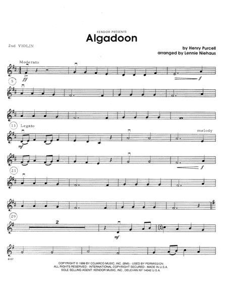 Algadoon - 2nd Violin