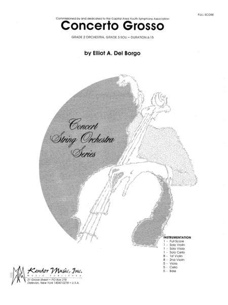 Concerto Grosso - Full Score