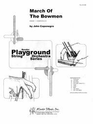 March Of The Bowmen - Full Score