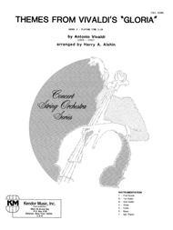 Themes From Vivaldi's Gloria - Full Score