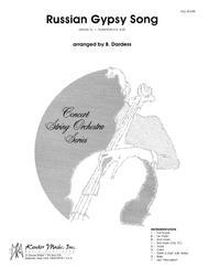 Russian Gypsy Song - Full Score