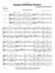 Russian Christmas Classics - Full Score