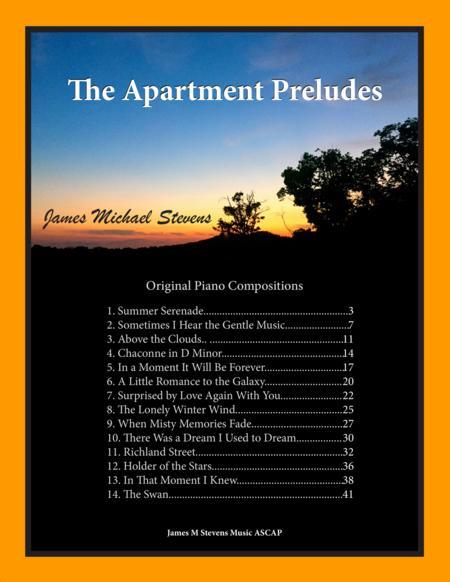 The Apartment Preludes (Piano Book)