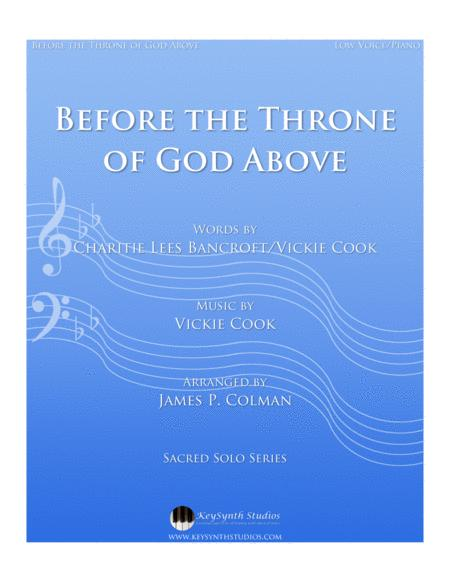 Before the Throne of God Above