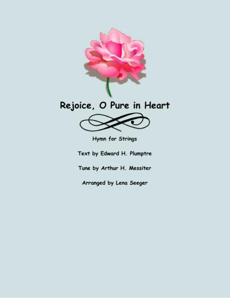 Rejoice O Pure in Heart (String Orchestra)