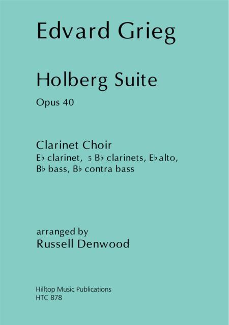 Holberg Suite arr. Clarinet Choir
