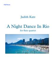 A Night Dance In Rio - for flute quartet