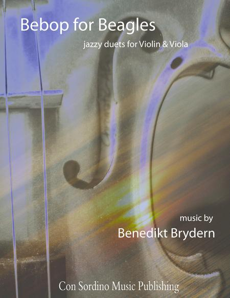 Bebop for Beagles - jazzy duets for Violin and Viola