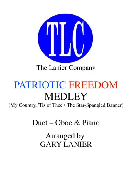 PATRIOTIC FREEDOM MEDLEY (Duet – Oboe and Piano/Score and Parts)